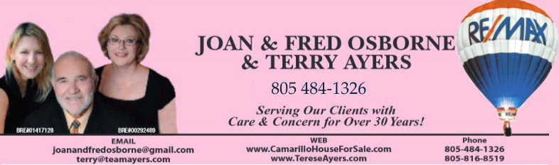 Joan Fred and Terry -- Top Realtors Heading